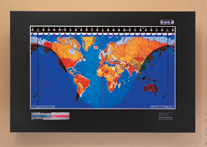 Geochron global time indicator one map place we can turn any fold map or wall map into a laminated wall map or a mounted and laminated wall map we also offer laminating and mounting service for any of gumiabroncs Gallery