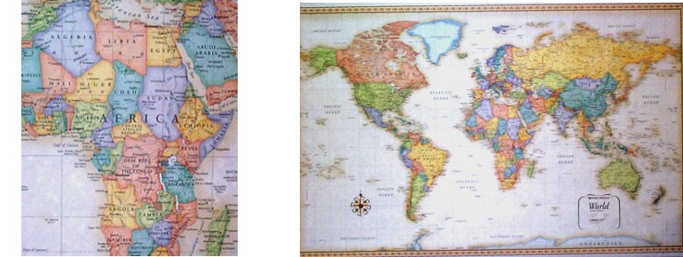 Rand McNally Classic World Wall Map One Map Place - Rand mcnally us wall map