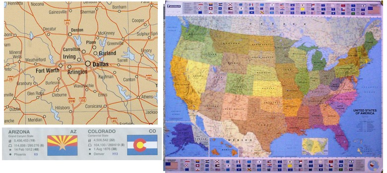 Michelin United States Highway Map One Map Place - Us map states only