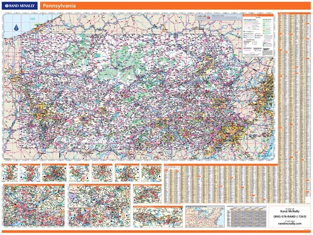 Rand McNally Boise Id Easyfinder Plus Map