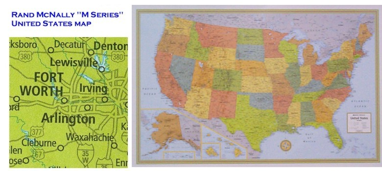 United States Highway Wall Map In Paper Laminated Or Mounted By - Us paper map
