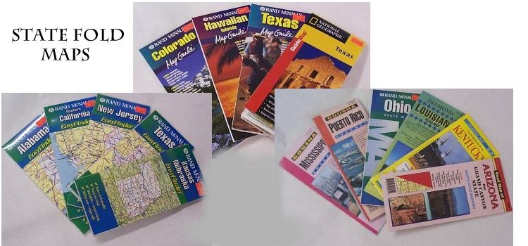 State highway fold maps