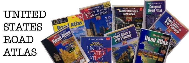 United States Highway Fold Maps and US atlasesOne Map Place